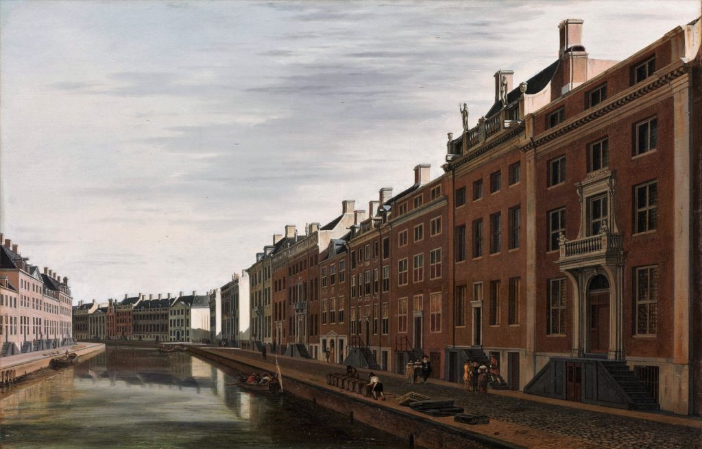 The Golden Bend in the Herengracht, Amsterdam, Seen from the West